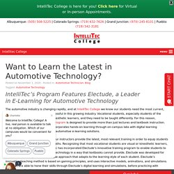 Want to Learn the Latest in Automotive Technology?