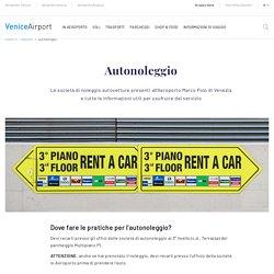 Autonoleggio Aeroporto Venezia Marco Polo Tessera