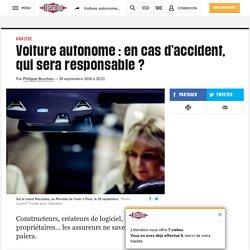 Voiture autonome : en cas d'accident, qui sera responsable ?