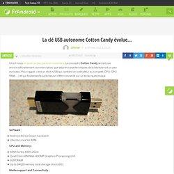 La clé USB autonome Cotton Candy évolue…