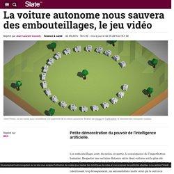 La voiture autonome nous sauvera des embouteillages, le jeu vidéo