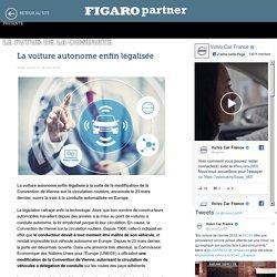 La voiture autonome enfin légalisée - Le Futur de la conduite - Le Figaro
