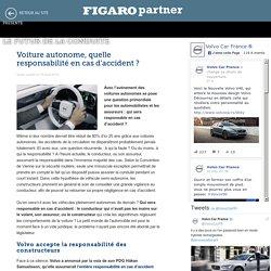 Voiture autonome, quelle responsabilité en cas d'accident? - Le Futur de la conduite - Le Figaro
