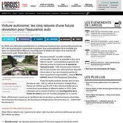 Voiture autonome: les cinq raisons d'une future révolution pour l'assurance auto