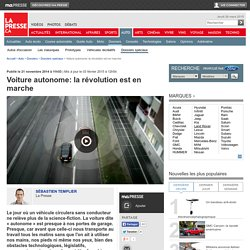 Voiture autonome: la révolution est en marche