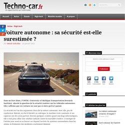 Voiture autonome : sa sécurité est-elle surestimée ?