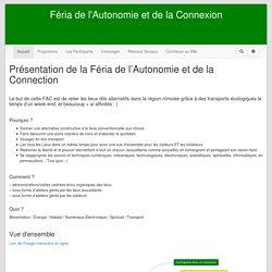 Wiki de l'Autonomie Au Quotidien : FeriaAutonomie