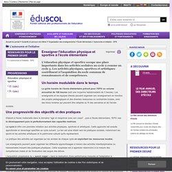 Autonomie et initiative - EPS - Enseigner l'éducation physique et sportive à l'école