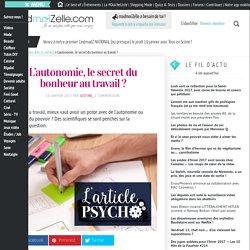 Autonomie au travail : le secret du bonheur ? — madmoiZelle.com