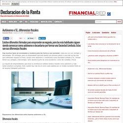 Autónomo o SL, diferencias fiscales