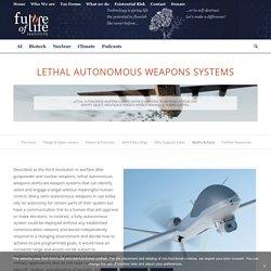 Lethal Autonomous Weapons Systems