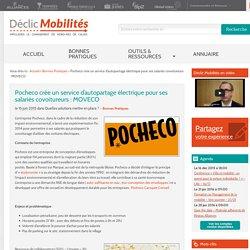 Pocheco crée un service d'autopartage électrique pour ses salariés covoitureurs : MOVECO