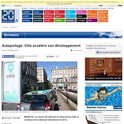 Autopartage: Citiz accélère son développement