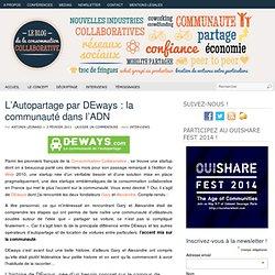 L'autopartage par DEways : la communauté dans l'ADN