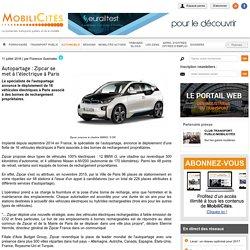 Autopartage : Zipcar se met à l'électrique à Paris