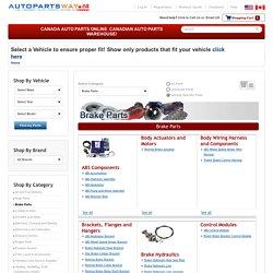 AutoPartsWAY.ca Canada - Brake Parts in Canada