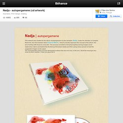 Nadja - autopergamene (cd artwork) on the Behance Network