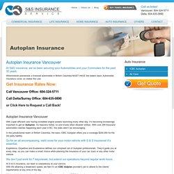 Autoplan Insurance Surrey, Delta, BC, Canada