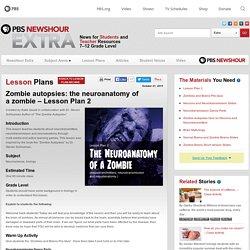 Zombie autopsies: the neuroanatomy of a zombie – Lesson Plan 2