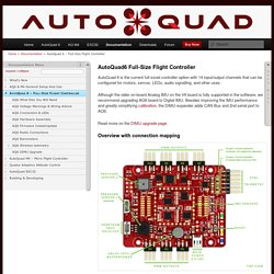 AutoQuad 6 – Full-Size Flight Controller