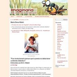 Autores - Imaginaria No. 19 - 23 de febrero de 2000