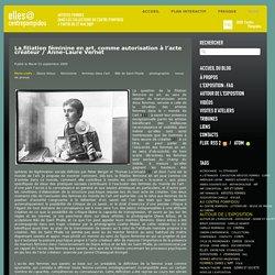 La filiation féminine en art, comme autorisation à l'acte créateur / Anne-Laure Vernet