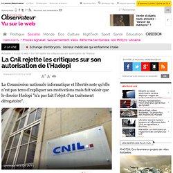 La Cnil rejette les critiques sur son autorisation de l'Hadopi - Vu sur le web