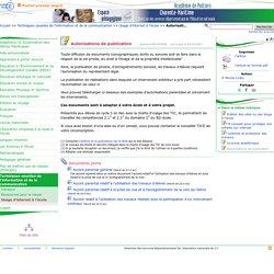Autorisations de publication- Pédagogie - Direction des services départementaux de l'éducation nationale du 17
