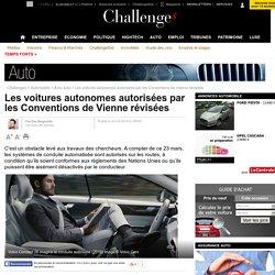 Les voitures autonomes autorisées par les Conventions de Vienne révisées