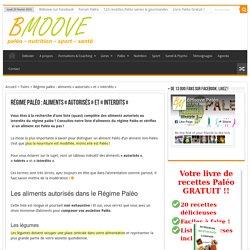 Régime Paléo: aliments autorisés / interdits - guide de référence