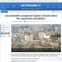 Les autorités craignent l'après-Charlie dans les «quartiers sensibles»