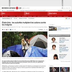 États-Unis : les autorités multiplient les actions contre les indignés