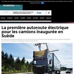 2016.07 - La première autoroute électrique pour les camions inaugurée en Suède