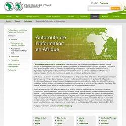 Autoroute de l'information en Afrique (AIA)