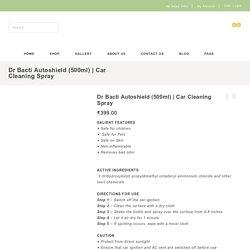 Autoshield car sanitizer spray(500ML)
