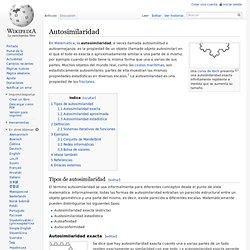 Autosimilaridad