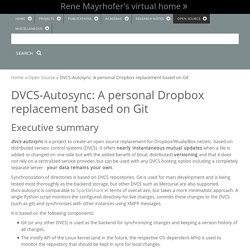 DVCS-Autosync: A personal Dropbox replacement based on Git