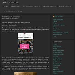 Autotélicité du numérique « drmlj sur le net