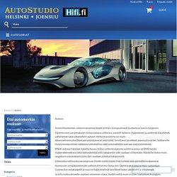 Autotuotteet AutoStudiolta