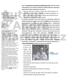 Autour d'André Markowicz - retors.net
