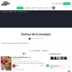 Autour de la musique - Liste de 48 films
