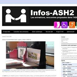 Infos-ASH2: Autour du kamishibaï (kami: papier, shibai: théâtre)
