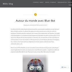 Autour du monde avec Blue-Bot – Biblio-blog