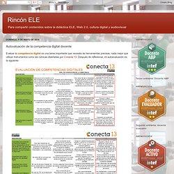 Rincón ELE: Autovaluación de la competencia digital docente