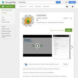 AutoVera – Applications Android sur Google Play