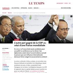 L'autre pari gagné de la COP 21: celui d'une France mondialisée