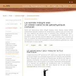 Les autres instruments - SEIS / Mars InSight