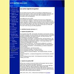 Autres logiciels de gestion : Ciel, EBP