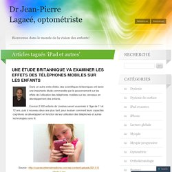Dr Jean-Pierre Lagacé, optométriste