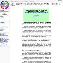 Alain Madelin:Quand les autruches relèveront la tête - Chapitre 1 - Librairal